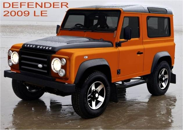 Land Rover Defender Fire