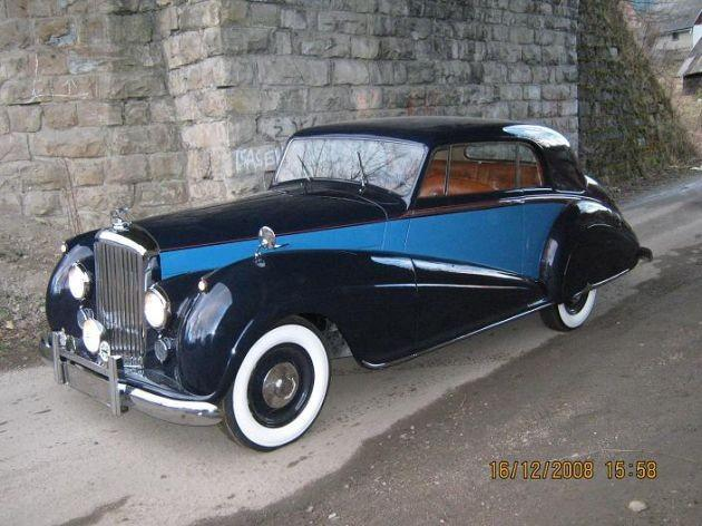 Bentley MK VI Park Ward Coupe