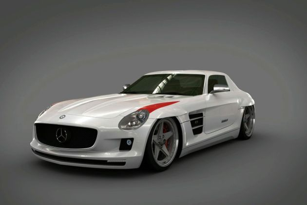 Mercedes SLS made in USA