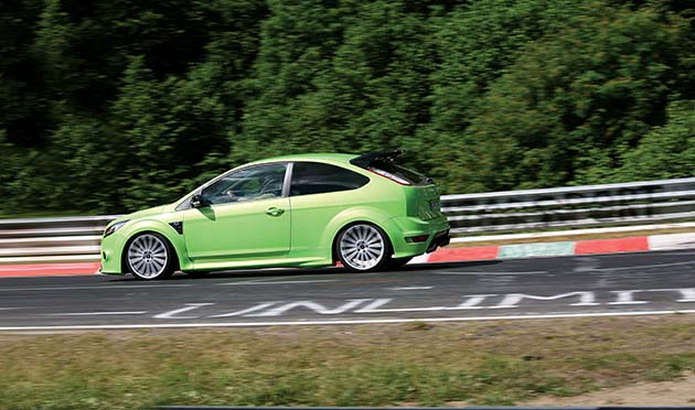 Ford Focus RS na Nürburgringu – w zielonym piekle