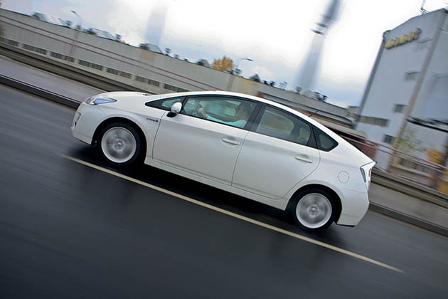 Toyota Prius - o kropelce