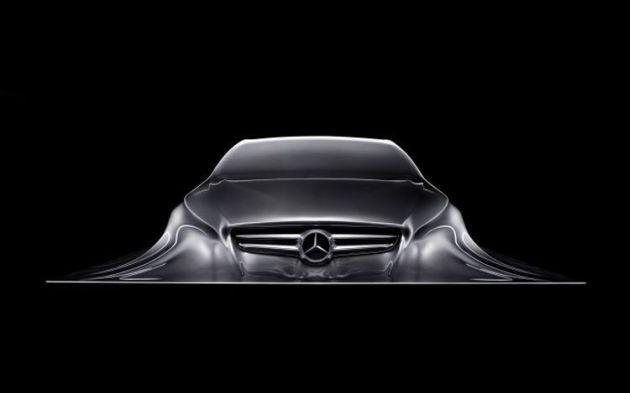 Mercedes Rising Car