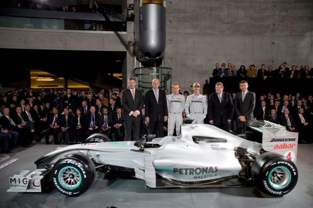 Mercedes GP – barwy na sezon 2010