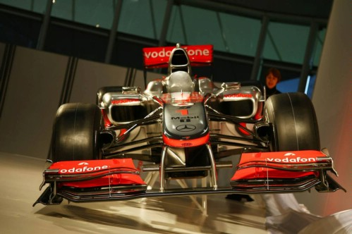 McLaren – nowy bolid na sezon 2010