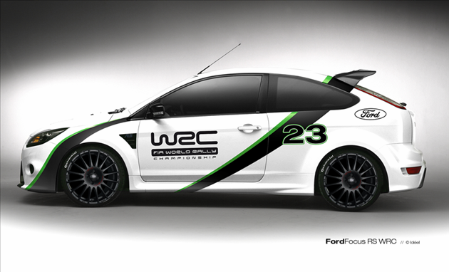 Ford, Focus RS, WRC, Edition
