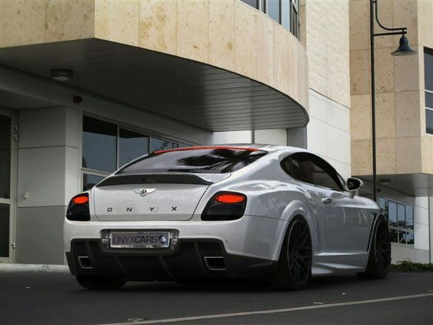 Bentley, Continental GT, Onyx Concept