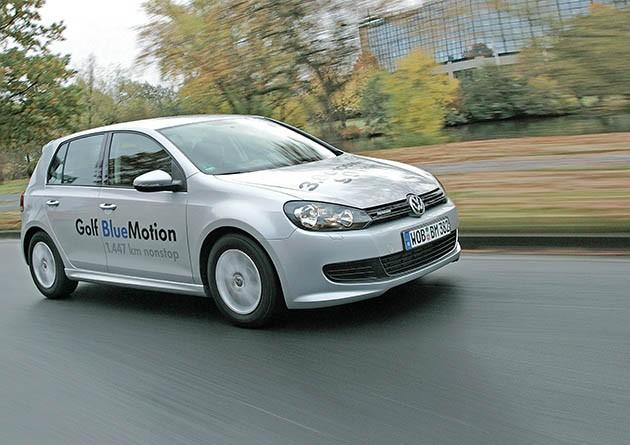VW, Golf, BlueMotion