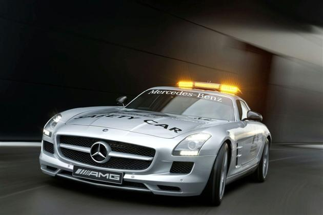 Mercedes-Benz, SLS, SLS AMG, Mercedes,  Fromuła 1, safety car