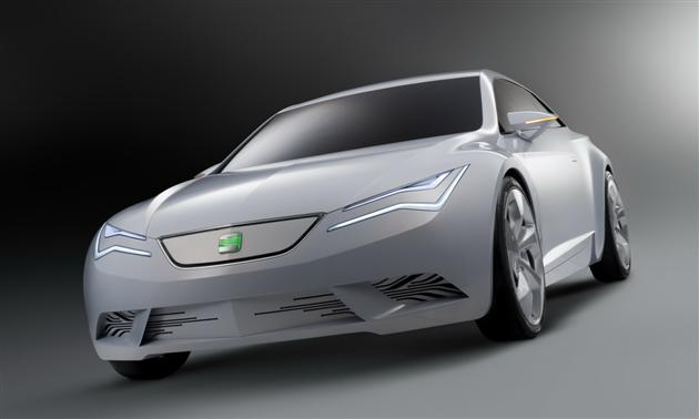 Seat IBE Concept – małe Scirocco?