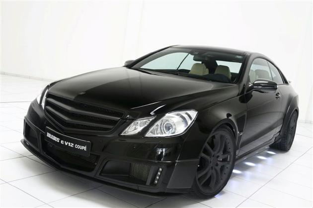 Brabus E V12 Coupe – 23,9 sekundy od 0 do 300 km/h