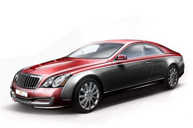 Maybach Coupe – na ratunek marce?