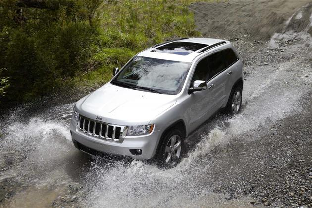 Nowy Jeep Grand Cherokee na wideo
