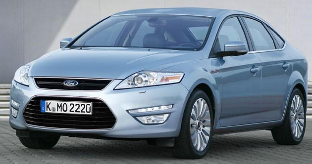 Ford, Mondeo, facelifting, lifting, Paryż 2010