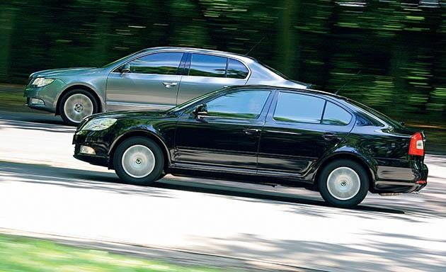 Skoda, Octavia, Superb