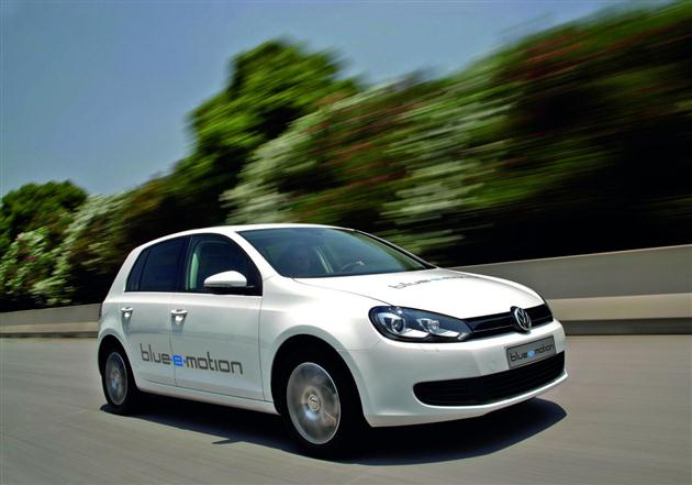 Volkswagen Golf Blue-e-motion – oficjalne dane