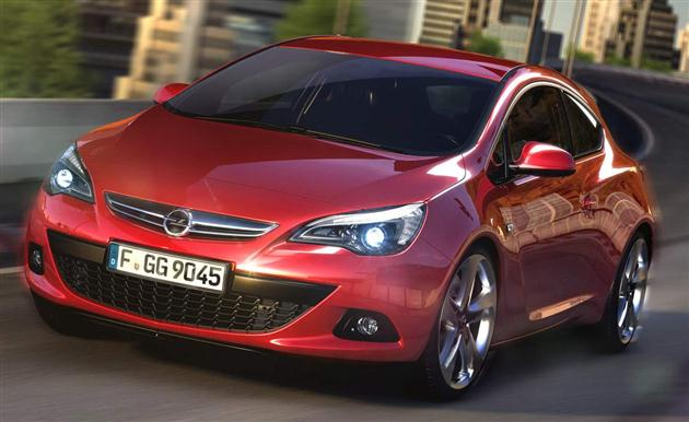 Opel Astra GTC – Ostra Astra