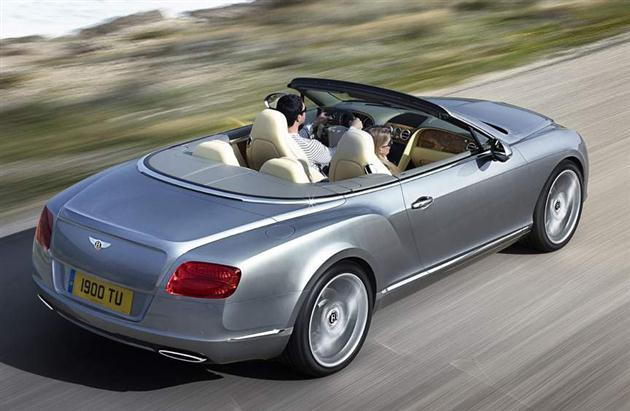 Bentley Continental GT w wersji topless (wideo)