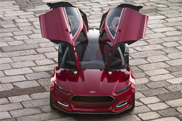 Ford we Frankfurcie – concept Evos (wideo)