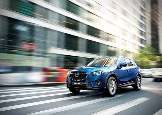 Mazda CX-5 – za dobra na off-road