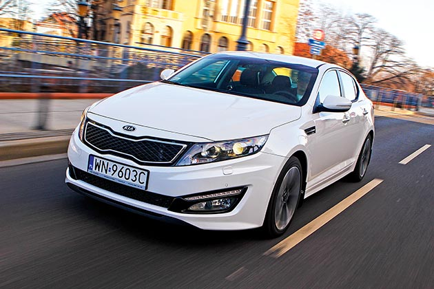 Kia Optima – test