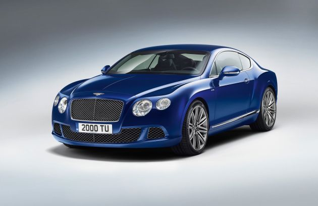 Nowy Bentley Continental GT Speed