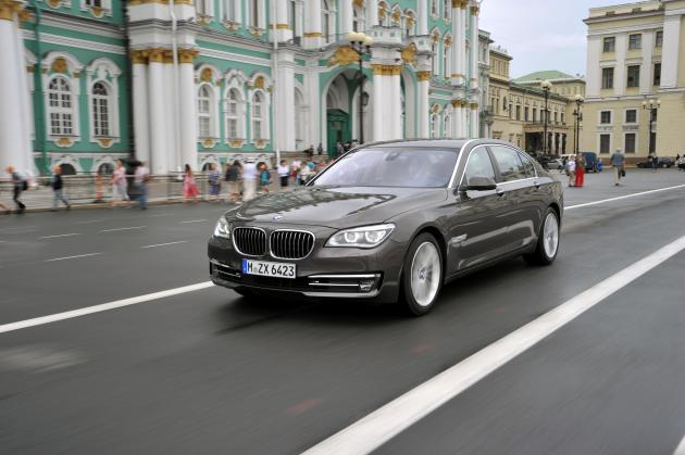 BMW 7 po liftingu