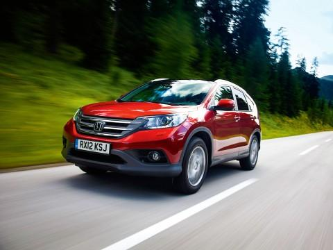 Honda CR-V - on-road  - motogazeta mojeauto.pl
