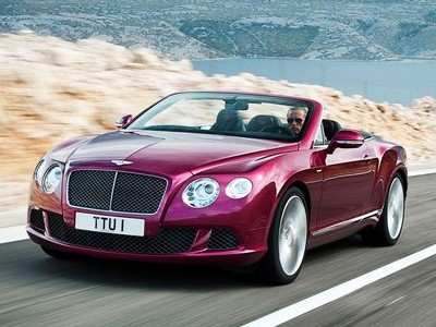 Bentley Continental GTC Speed – najszybsze kabrio w historii Bentley'a