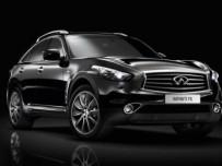Infiniti FX Black and White Edition – białe i czarne