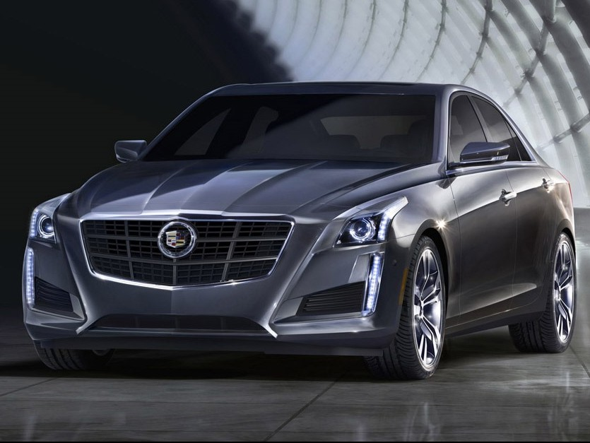Cadillac CTS Sedan: american player