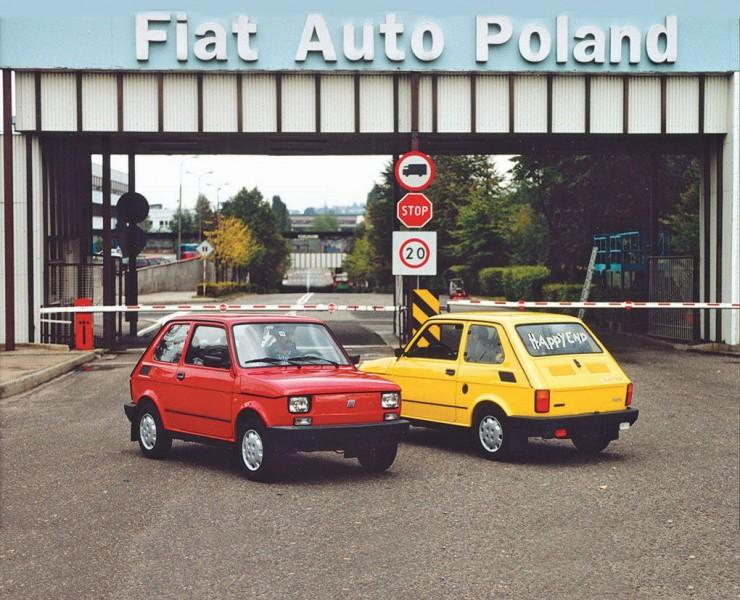 Fiat 126p Maluch Happy End