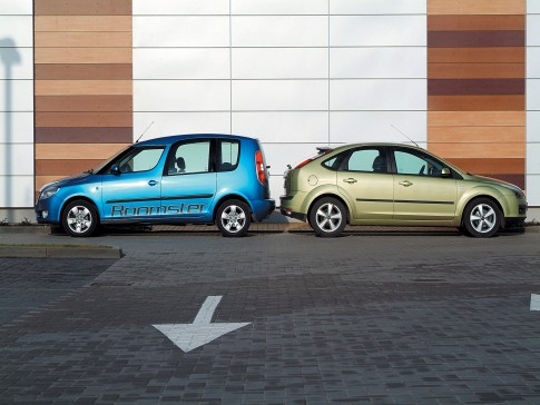 Ford Focus Platinum X i Skoda Roomster Style
