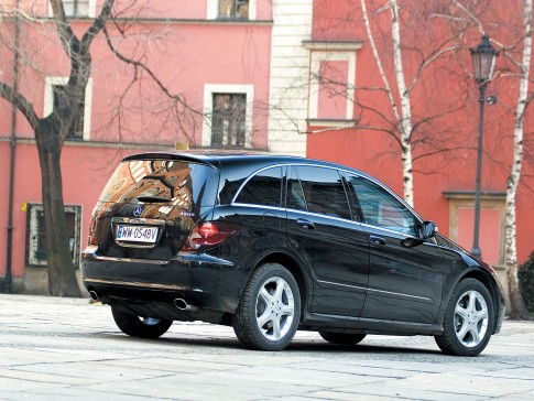 Test Mercedesa R 320 CDI