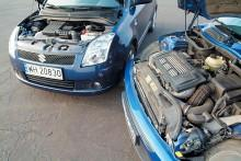 Mini Cooper S i Suzuki Swift